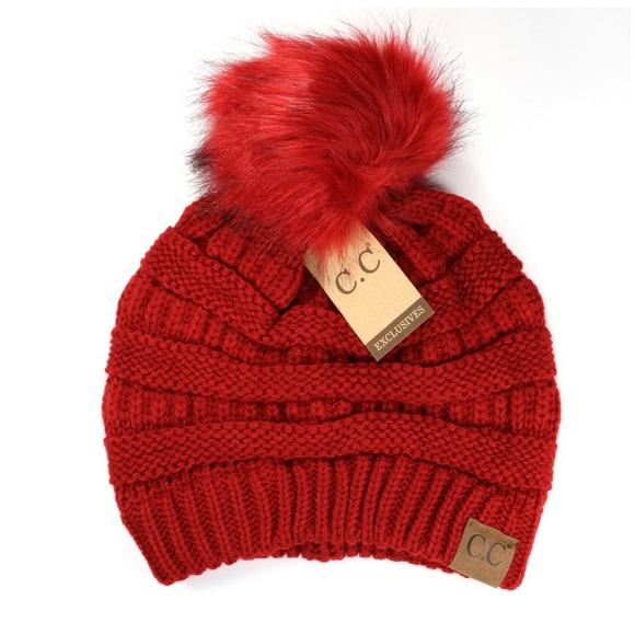 11c854374ff3b NEW • red cc beanie. Boutique